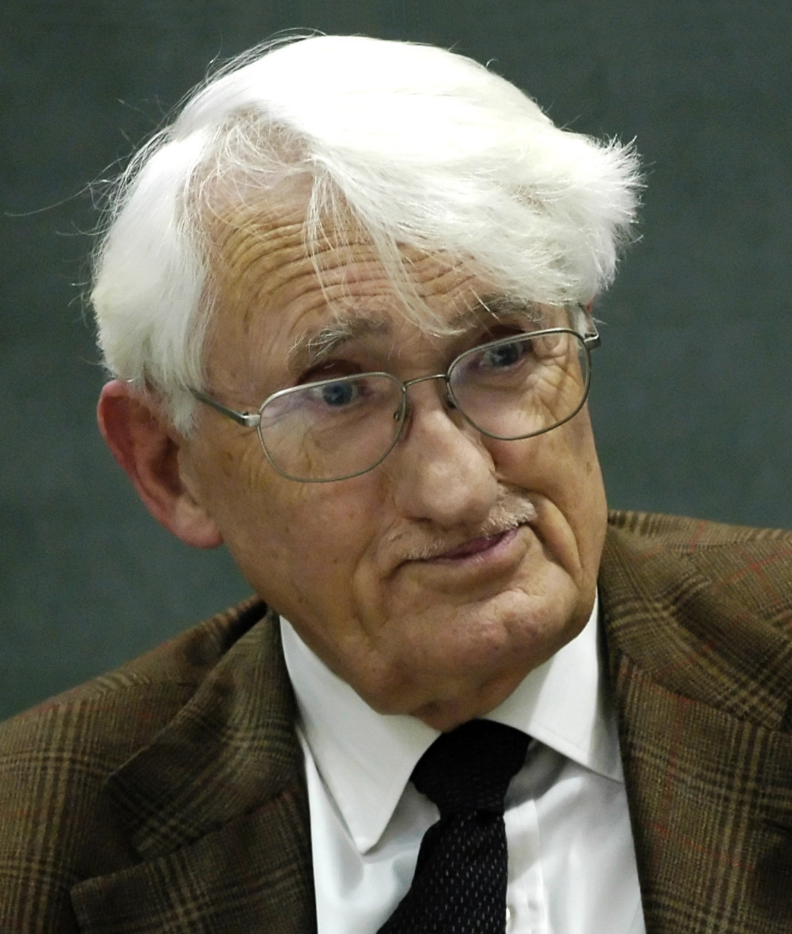 德國哲學家哈巴馬斯。 圖片來源:wikicommons