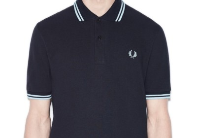Fred Perry 的 twin tipped polo。圖片來源:Fred Perry 官方網頁