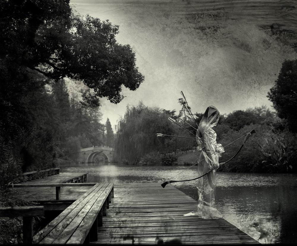 「草船借箭」系列作品之一(2005)