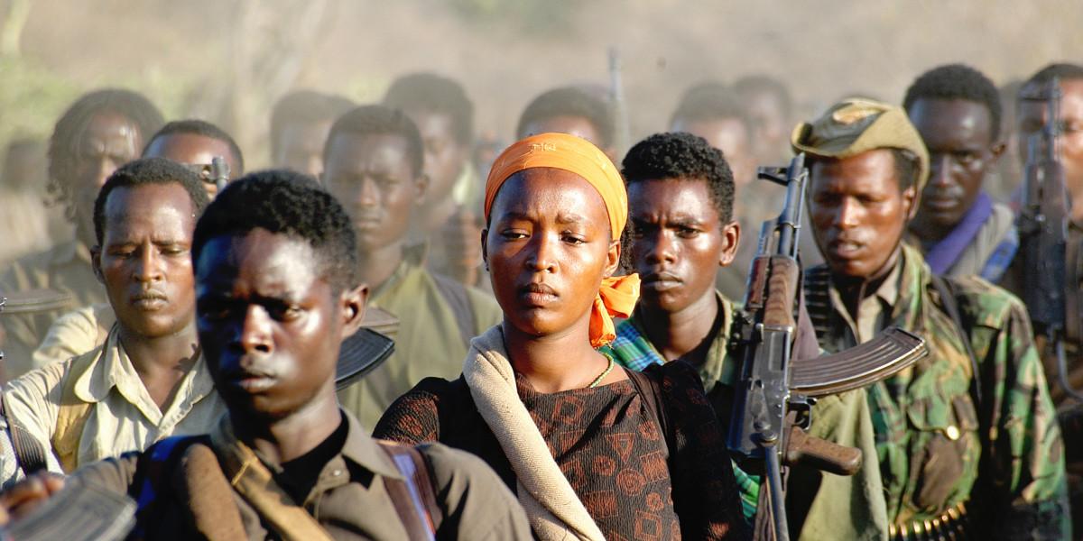 「奧羅莫解放陣線」(Oromo Liberation Front)撒兵至肯亞,意圖重組。圖片來源:Wikipedia