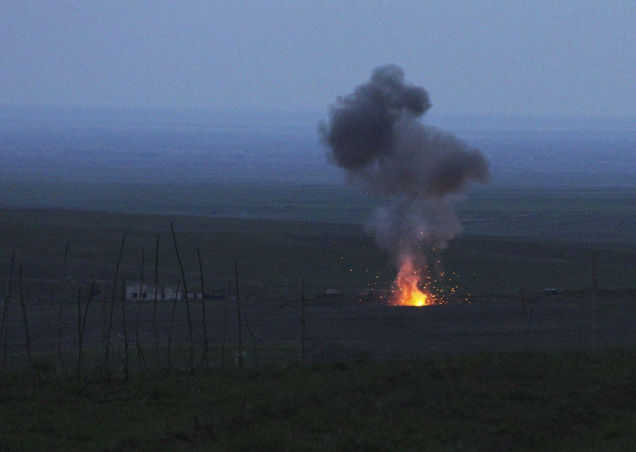 今年 4 月,亞美尼亞和阿塞拜疆兩國,再為爭奪納卡地區的主權,爆發嚴重的武裝衝突。圖片來源:路透社