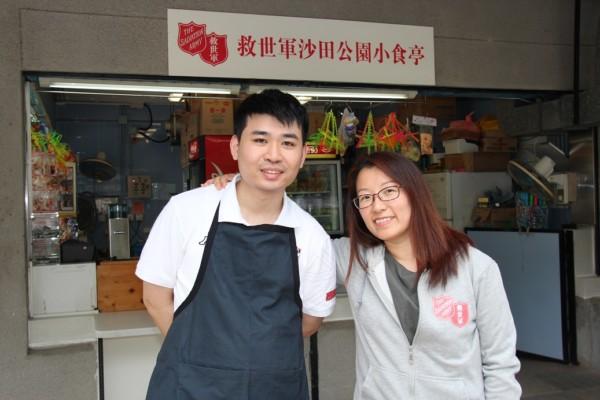 阿健現職於救世軍沙田小食亭,期望將來可到咖啡店工作。