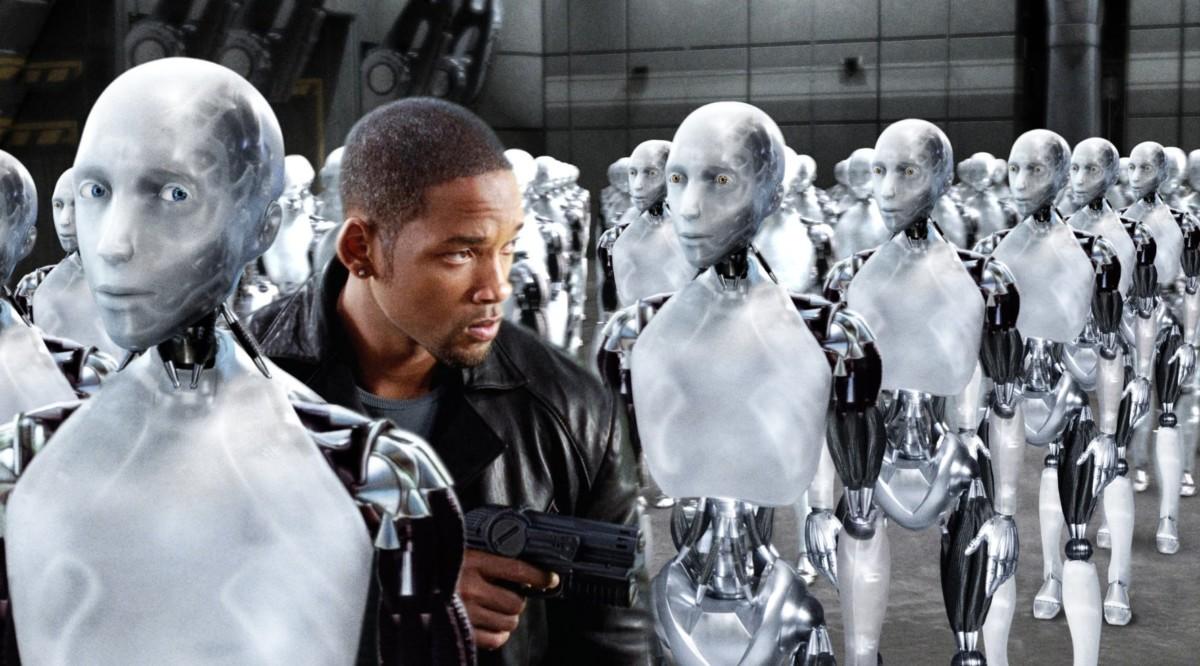 I, Robot 電影劇照。
