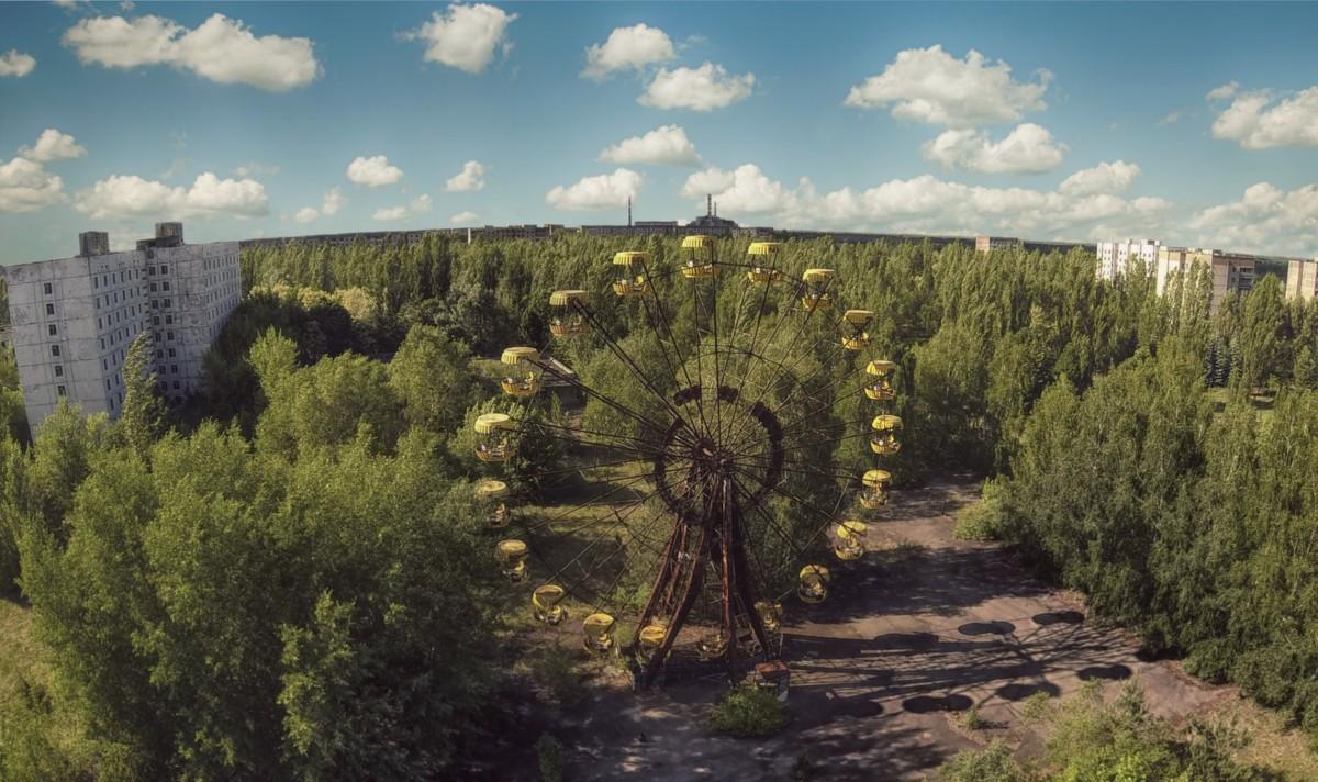 烏克蘭政府計劃在切爾諾貝爾附近的荒地,發展可再生能源,預計可提供相對於 30 年前的核電廠三分之一的產電能力。 圖片來源:iStock