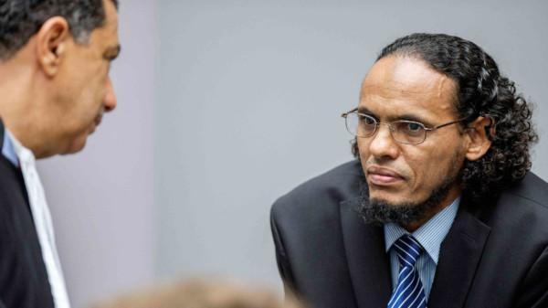 Ahmad al-Faqi al-Mahdi 出席國際刑事法院審訊。(圖片來源:路透社)