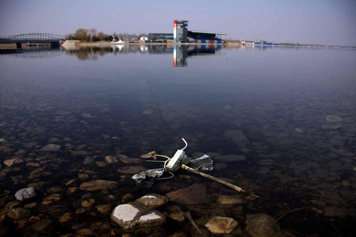 這裡前身是奧運賽艇比賽場地。圖片來源:路透社