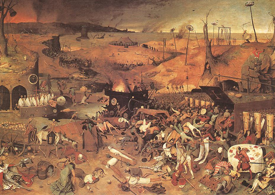 The Triumph of Death, By Pieter Brueghel the Elder