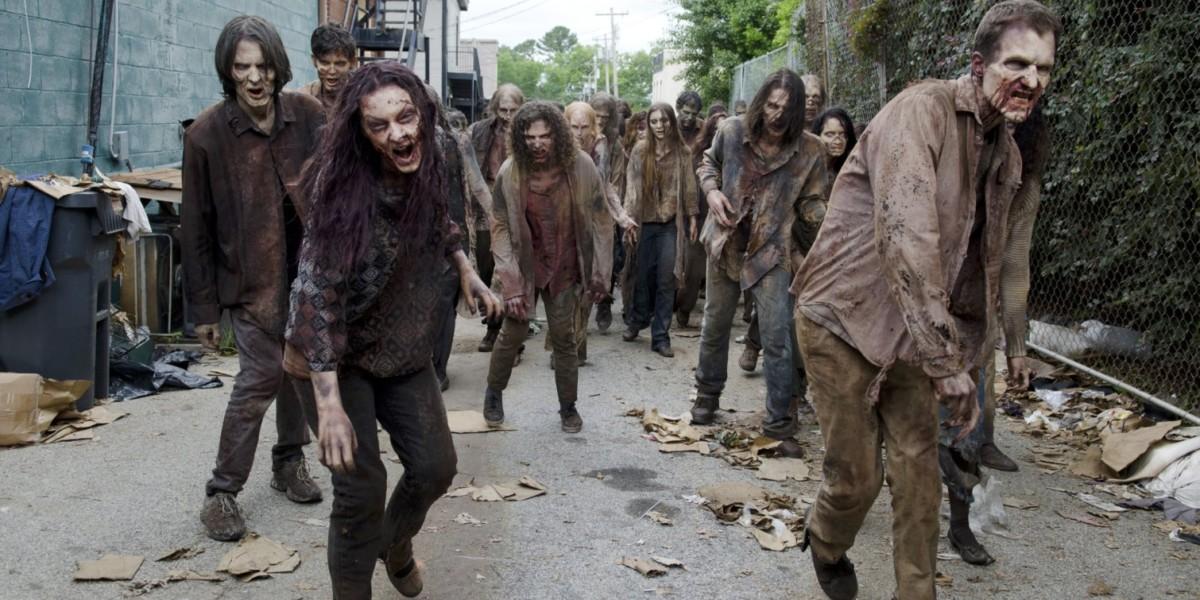 美劇 The Walking Dead 劇照。