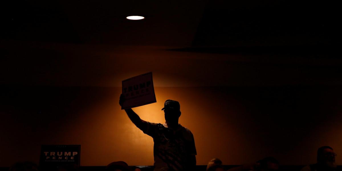 隱形杜林普支持者真的存在嗎? 圖片來源:路透社