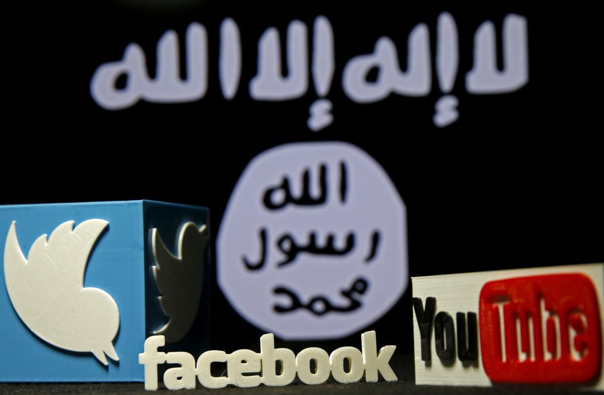 大型網站亦投入反恐戰爭。 圖片來源:路透社