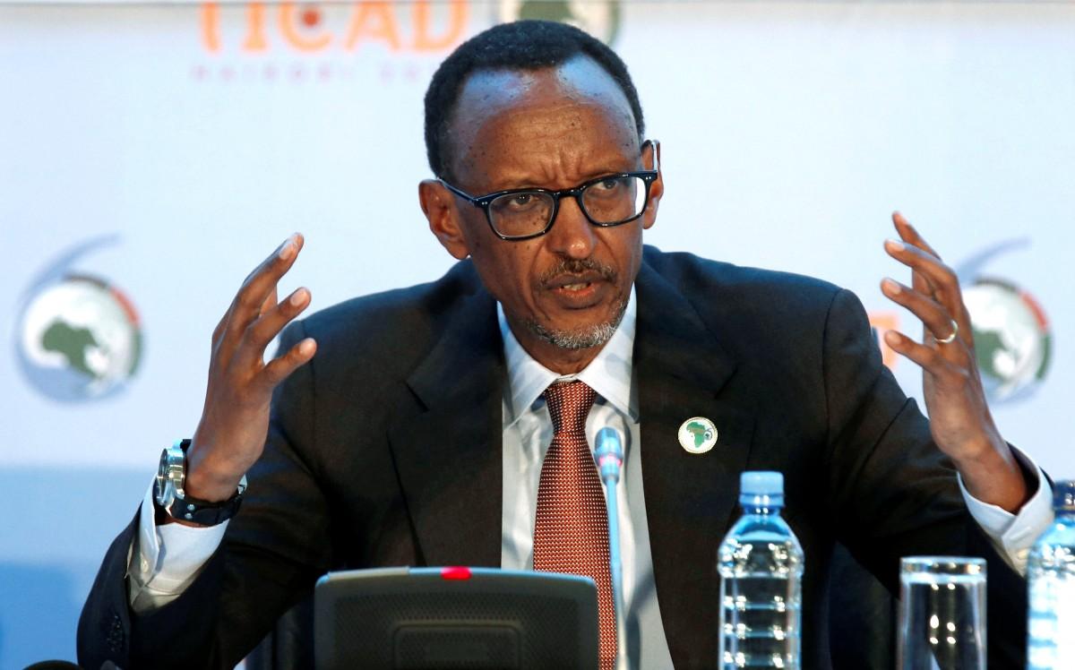 盧旺達總統卡加梅出席日本在肯亞舉行的第六屆非洲開發會議致詞。(圖片來源:REUTERS)
