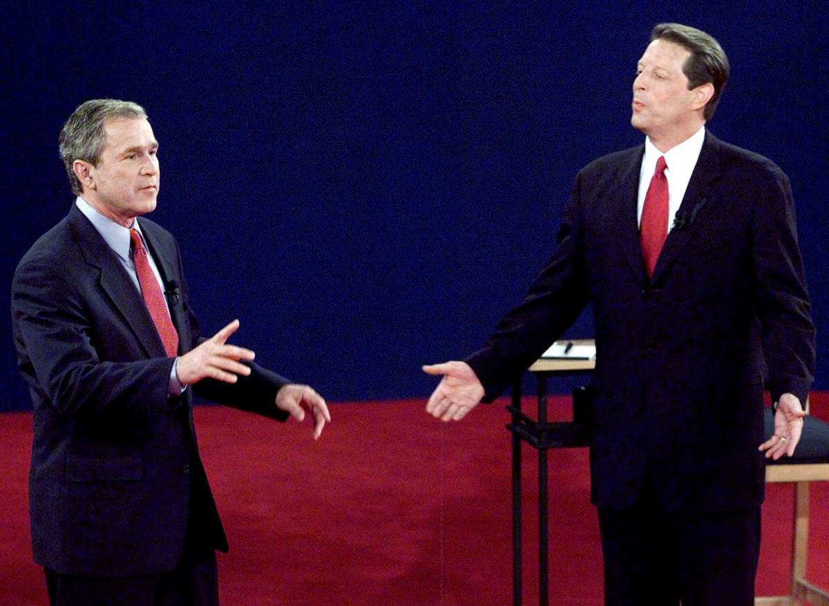 2000 年美國大選,布殊於佛羅里達州險勝戈爾 537 票,奠定勝局。 圖片來源:路透社
