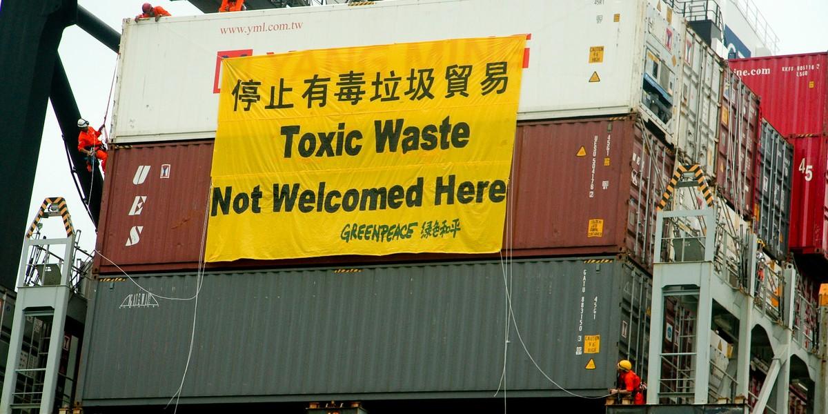 電子垃圾污染的影響跨越各國,香港亦不能獨善其身。