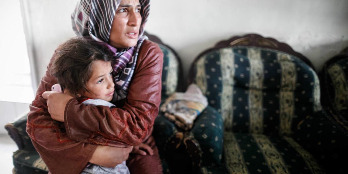 敍利亞國內的空襲令人恐懼。©Oxfam