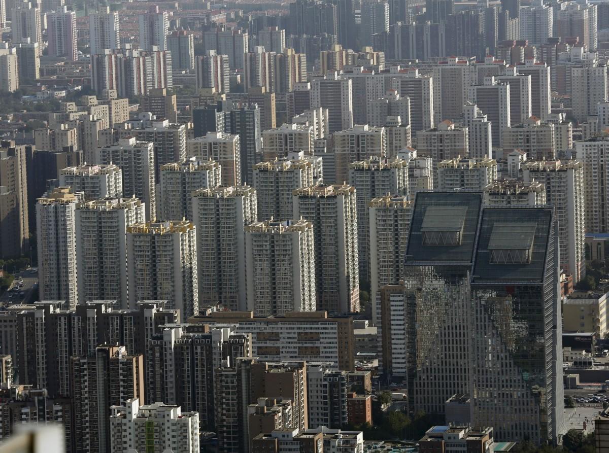 不少評論指出,中國樓市泡沫已屆危險程度。 圖片來源:路透社