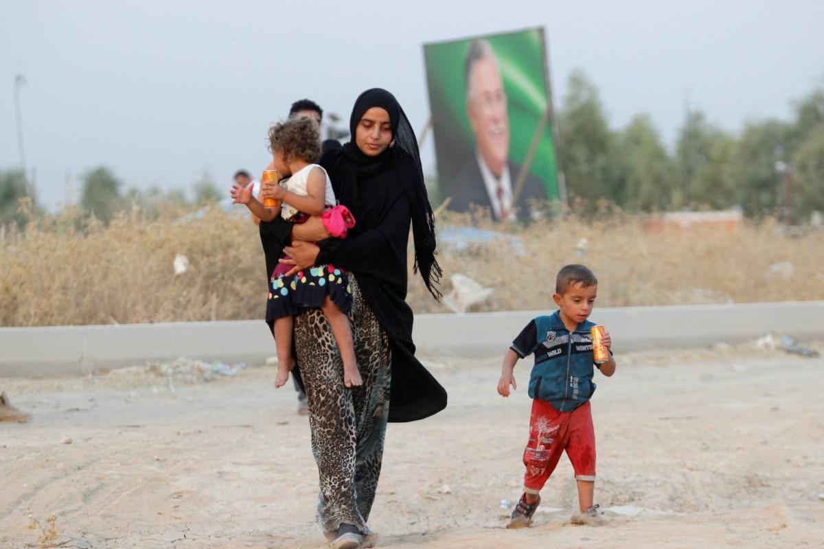 伊拉克離婚率近年大幅上升,其中三分二由女性提出。 圖片來源:路透社