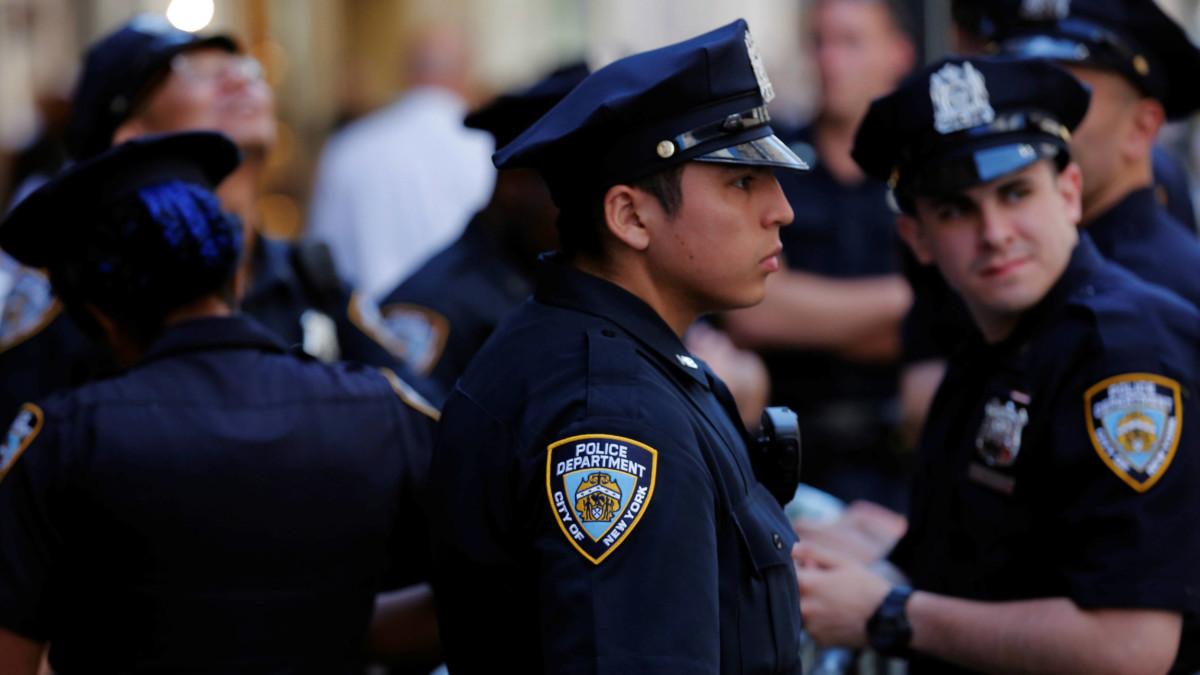 美國警方表現飽受批評,圖為己採用預測性監察的紐約警方。(圖片來源:路透社)