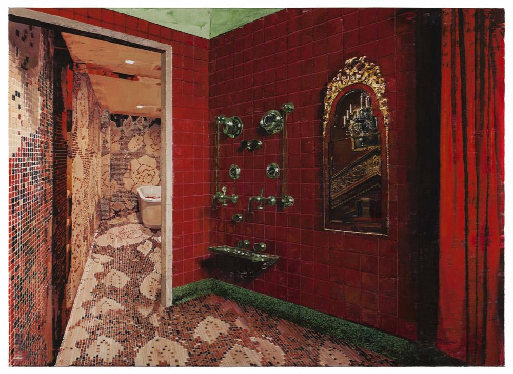 「獨立的衛生間」圖片來源:Edouard Malingue Gallery