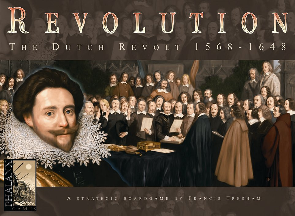 Dutch Revolution/圖片來源:boardgamegeek.com