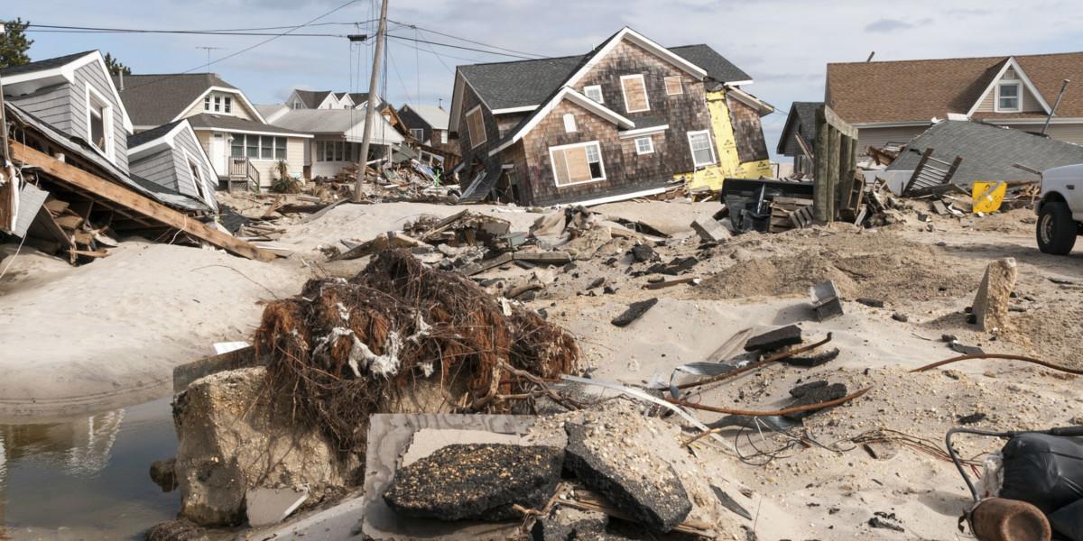 2012 年,美國颶風桑迪(Sandy)癱瘓美國東部。(圖片來源:iStock)