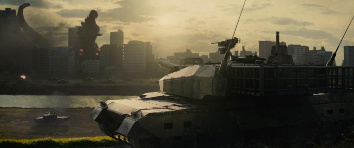 有陸上自衛官自認部隊最強,解決哥斯拉或只需 3 小時。/電影「真‧哥斯拉」劇照