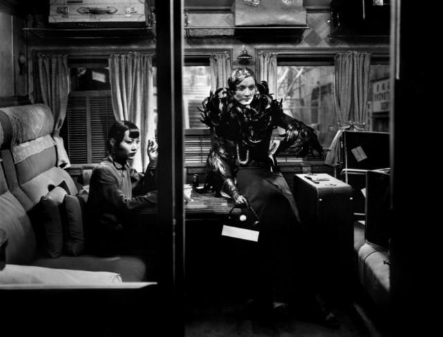 電影「上海快車」,兩個不安份的女人:Marlene Dietrich 和黃柳霜