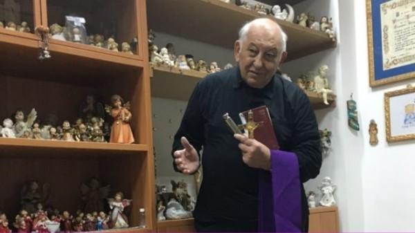 Vincenzo Taraborelli 神父:「在為他們驅魔之前,我強烈建議他們先接受心理學家或精神病學家診斷。」 圖片來源:BBC