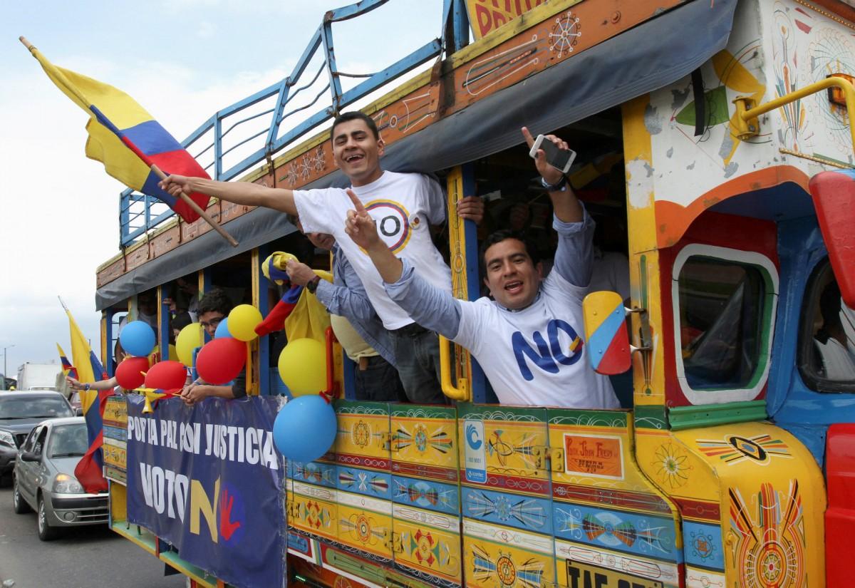 哥倫比亞與叛軍談判 4 年達成和約,卻遭公投否決。 圖片來源:路透社