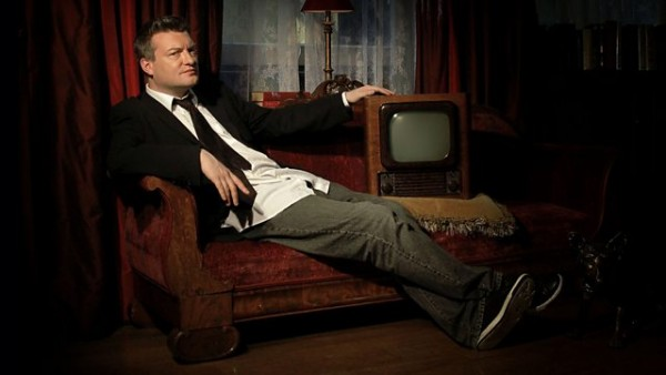 Charlie Brooker 主持節目 Screenwipe。 圖片來源:BBC