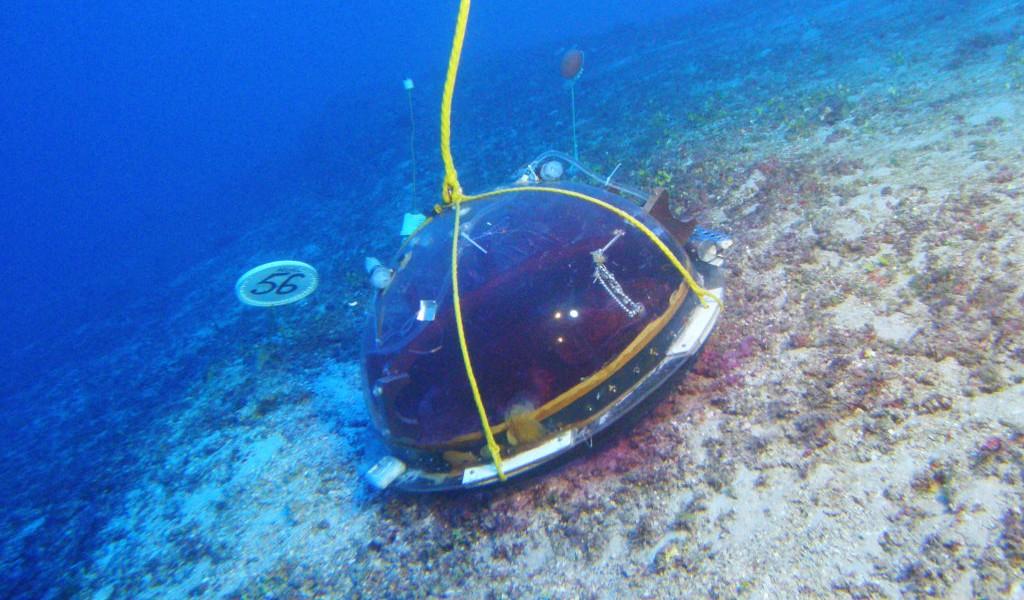 在實驗時用作監察珊瑚的儀器。圖片來源:Hawai'i Undersea Research Laboratory