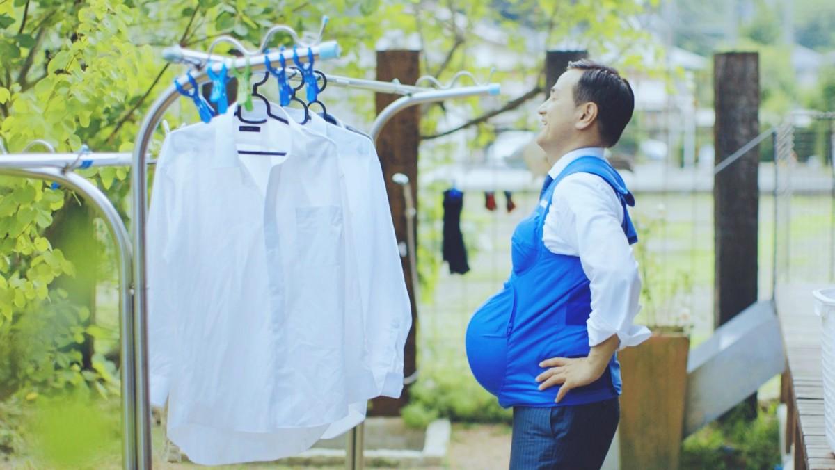 落雨收衫,打風收肚。 圖片來源:路透社