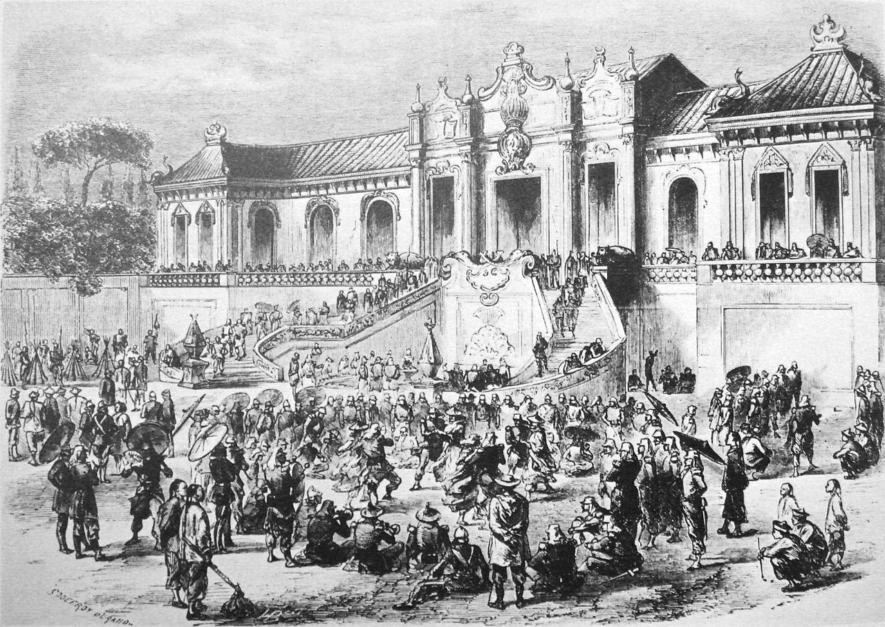 1860 年的圓明園