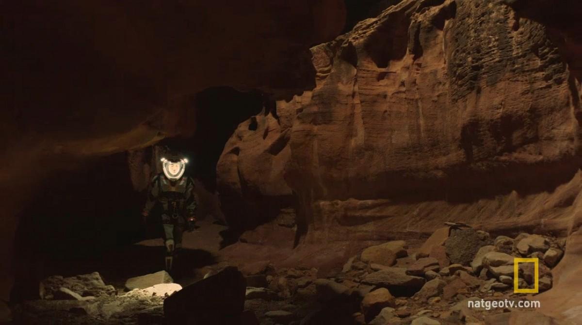 避開輻射和嚴寒另一方法,就是深入火星地底。 圖片來源:Nat Geo