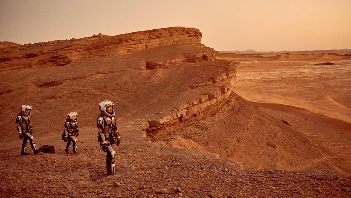 國家地理頻道節目「MARS」探討人類移居火星種種疑難,下月公映。 圖片來源:Nat Geo