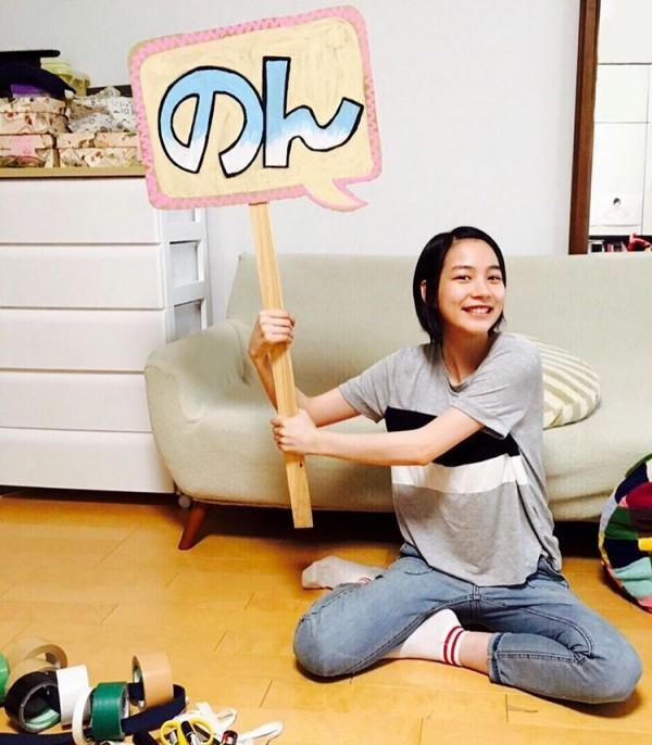 能年玲奈宣布改名為「のん(non)」。 圖片來源:@non_kamo_ne/Instagram