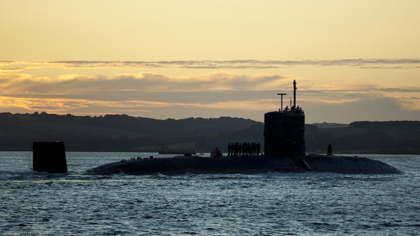 三叉戟核潛艇(圖片來源:iStock)。