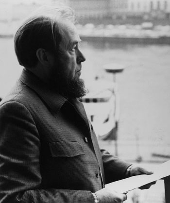 索忍尼辛(Alexandr Solzhenitsyn) 圖片來源:nobelprize.org
