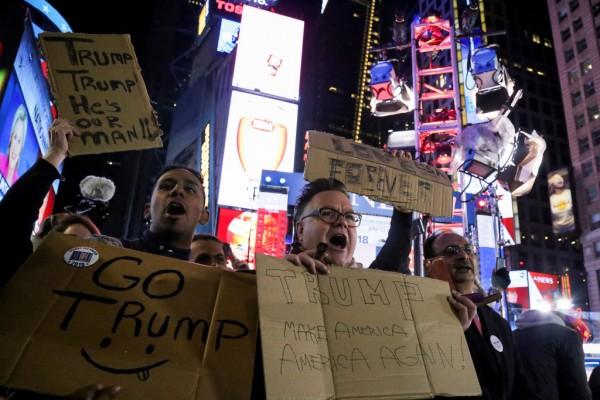 只有杜林普,他們才活得像美國人。 圖片來源:路透社