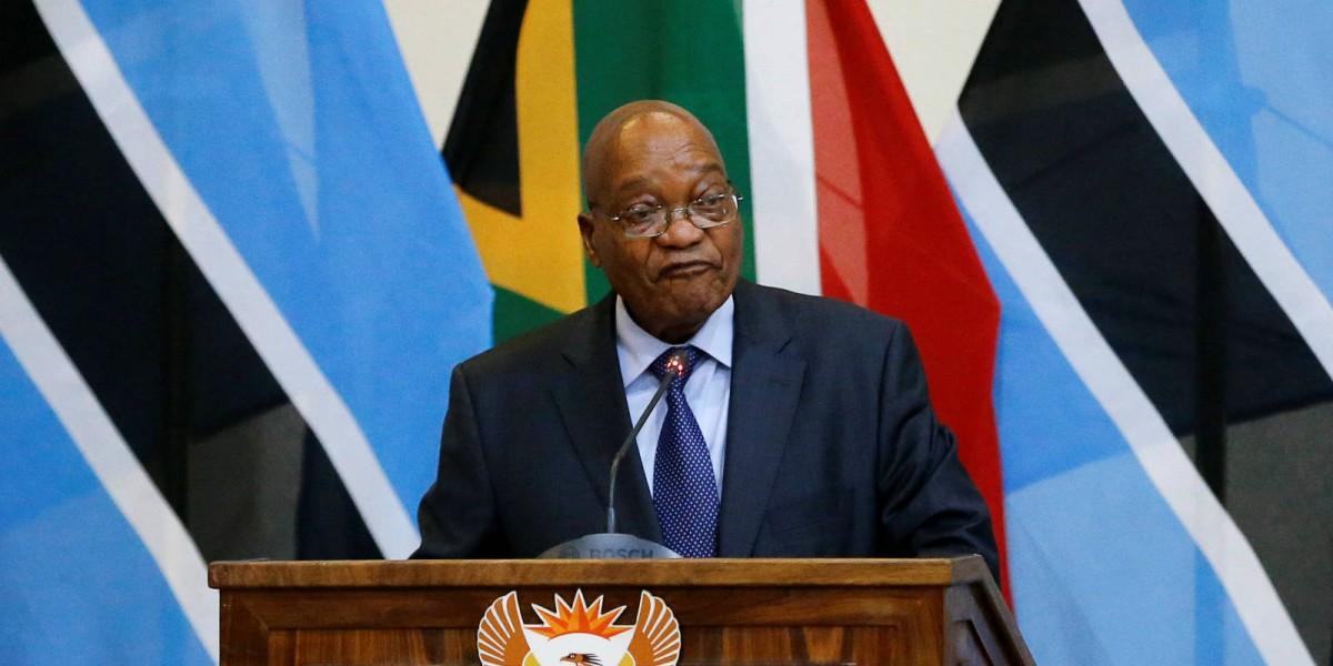 南非總統祖馬 圖片來源:路透社