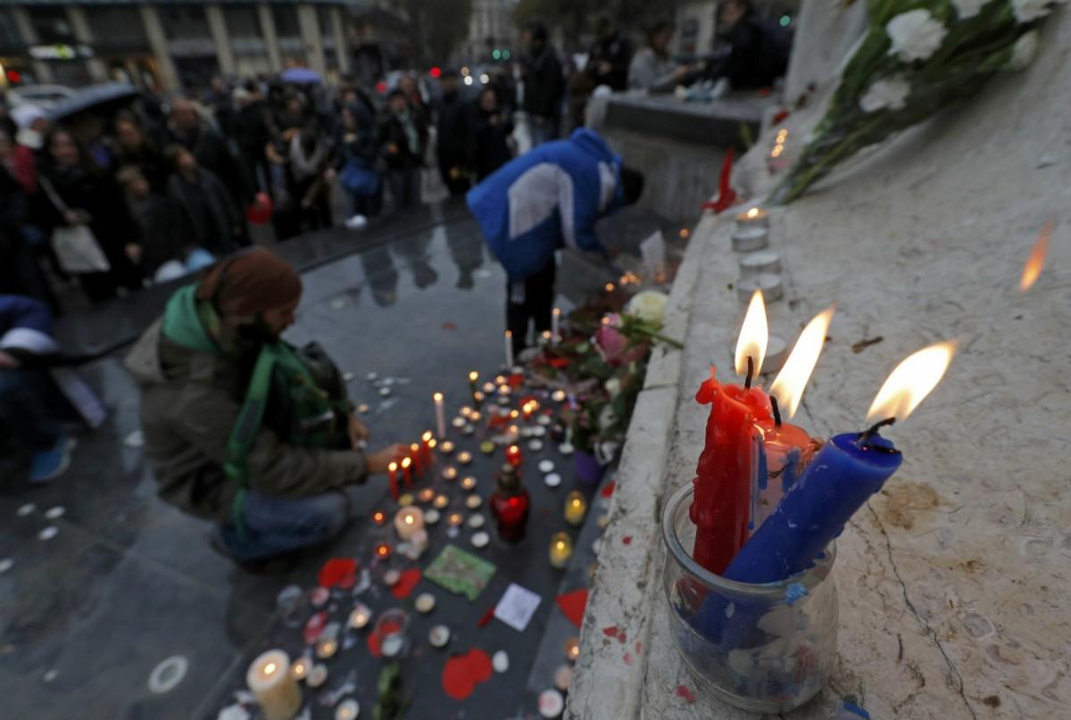 11 月 13 日,巴黎恐襲一周年紀念活動。 圖片來源:路透社