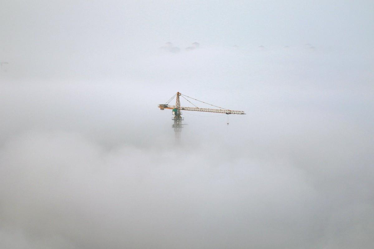 經濟發展與環境污染往往息息相關。 圖片來源:路透社