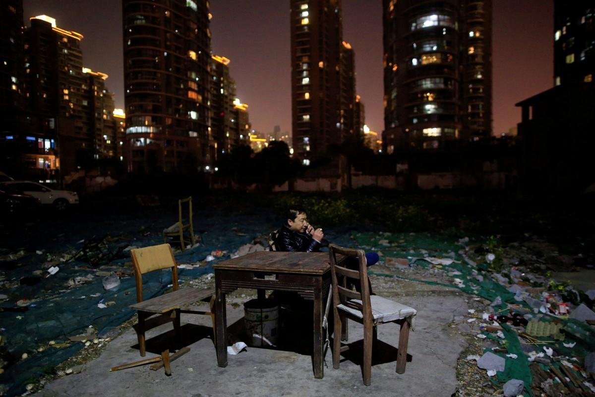 發展壓倒一切,包括他家。 圖片來源:路透社