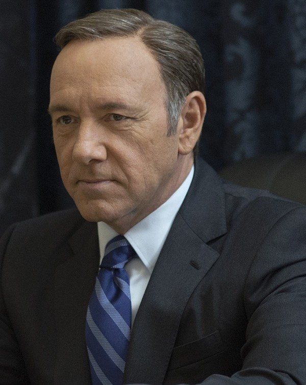 """Kevin Spacey in season 2 of Netflix's """"House of Cards."""" Photo credit: Nathaniel Bell for Netflix."""