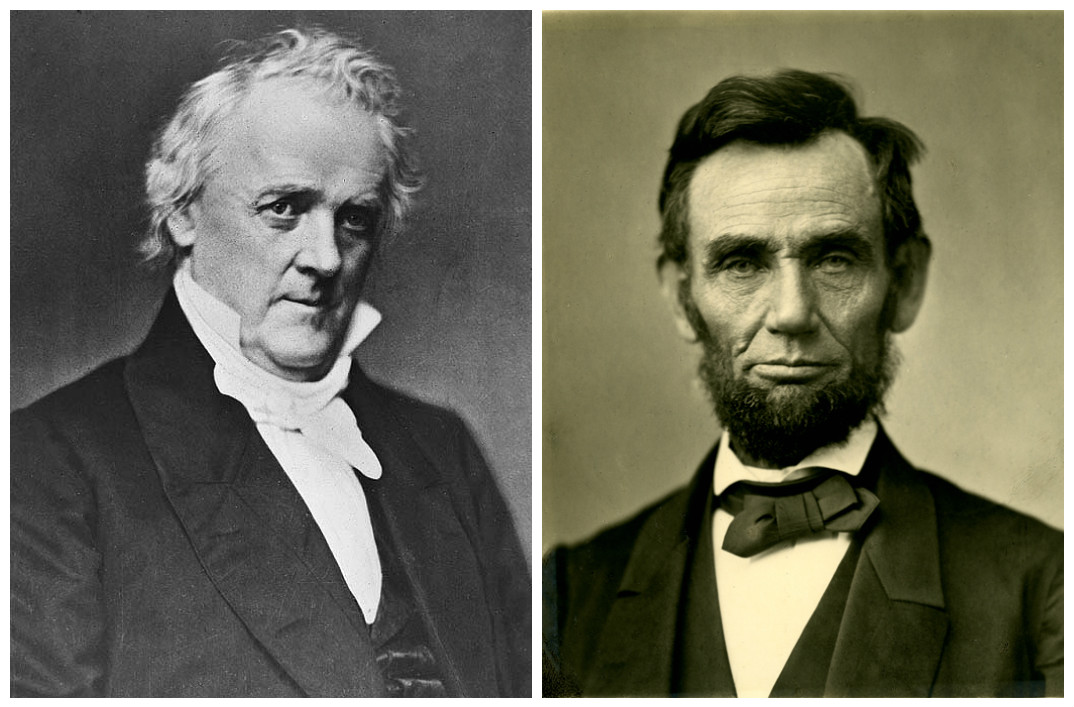 James Buchanan & Abraham Lincoln