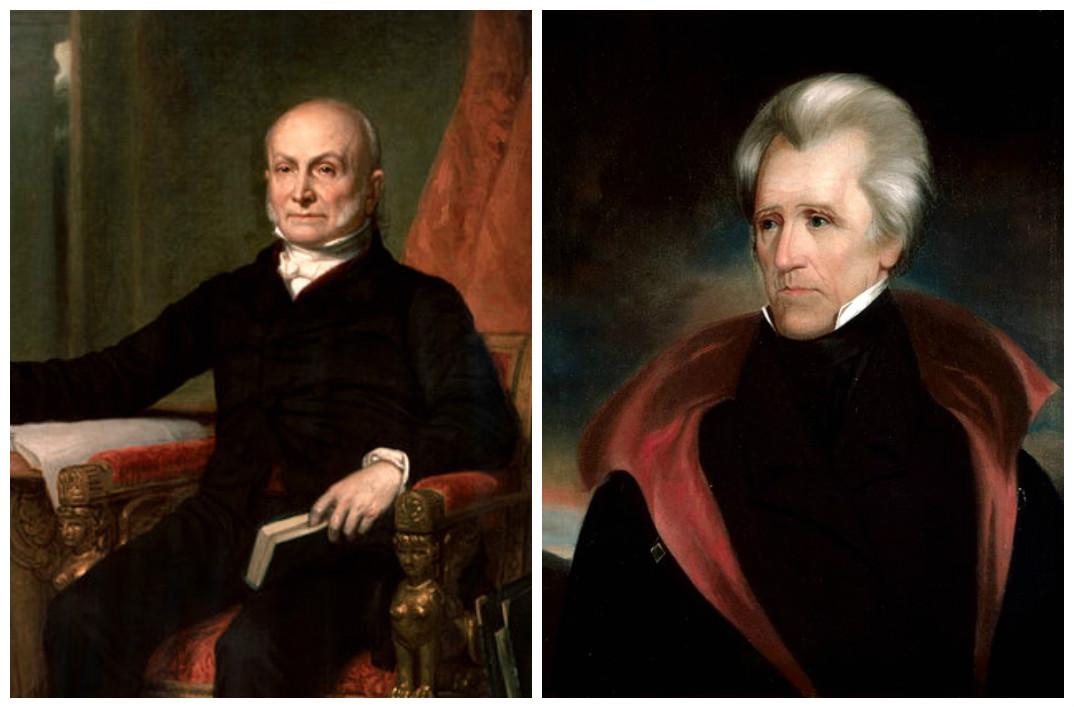 John Quincy Adams & Andrew Jackson