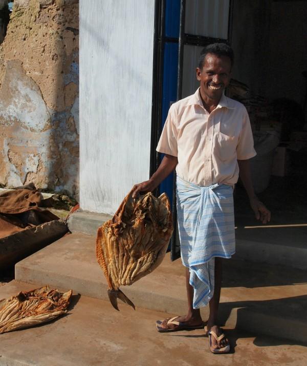 Kalpitiya 的村民