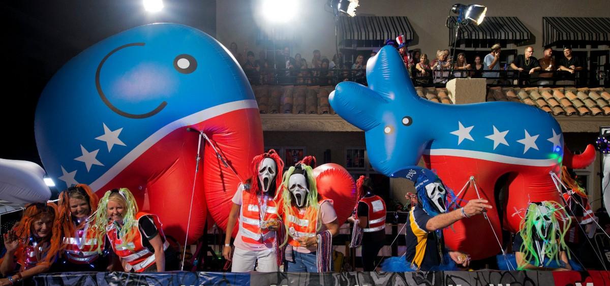 精英政治還是 1% 政治? 圖片來源:路透社