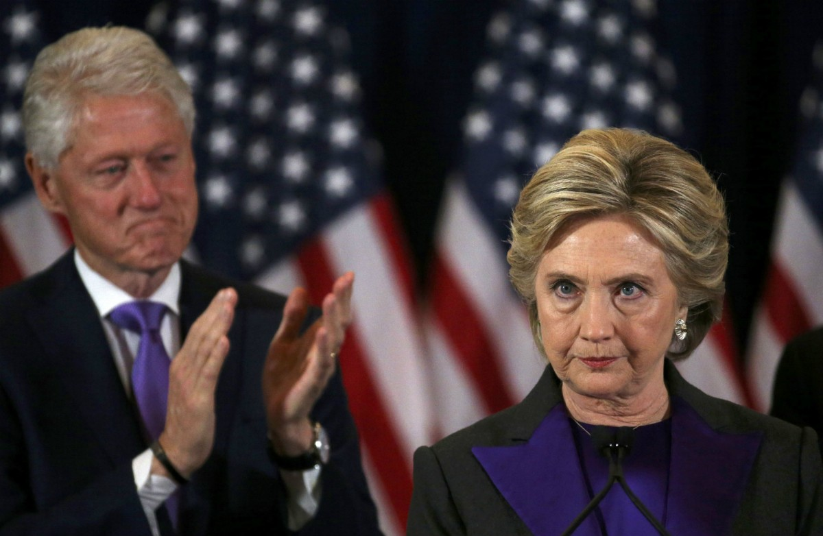 齊澤克指,希拉莉會維持現狀,但美國社會需要的是一場覺醒。 圖片來源:路透社
