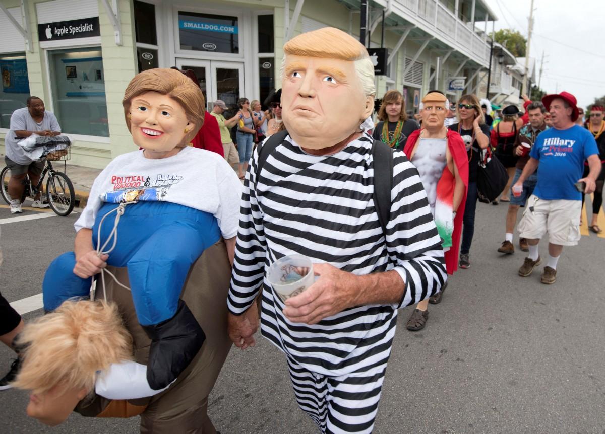 2016:最醜陋的美國大選? 圖片來源:路透社