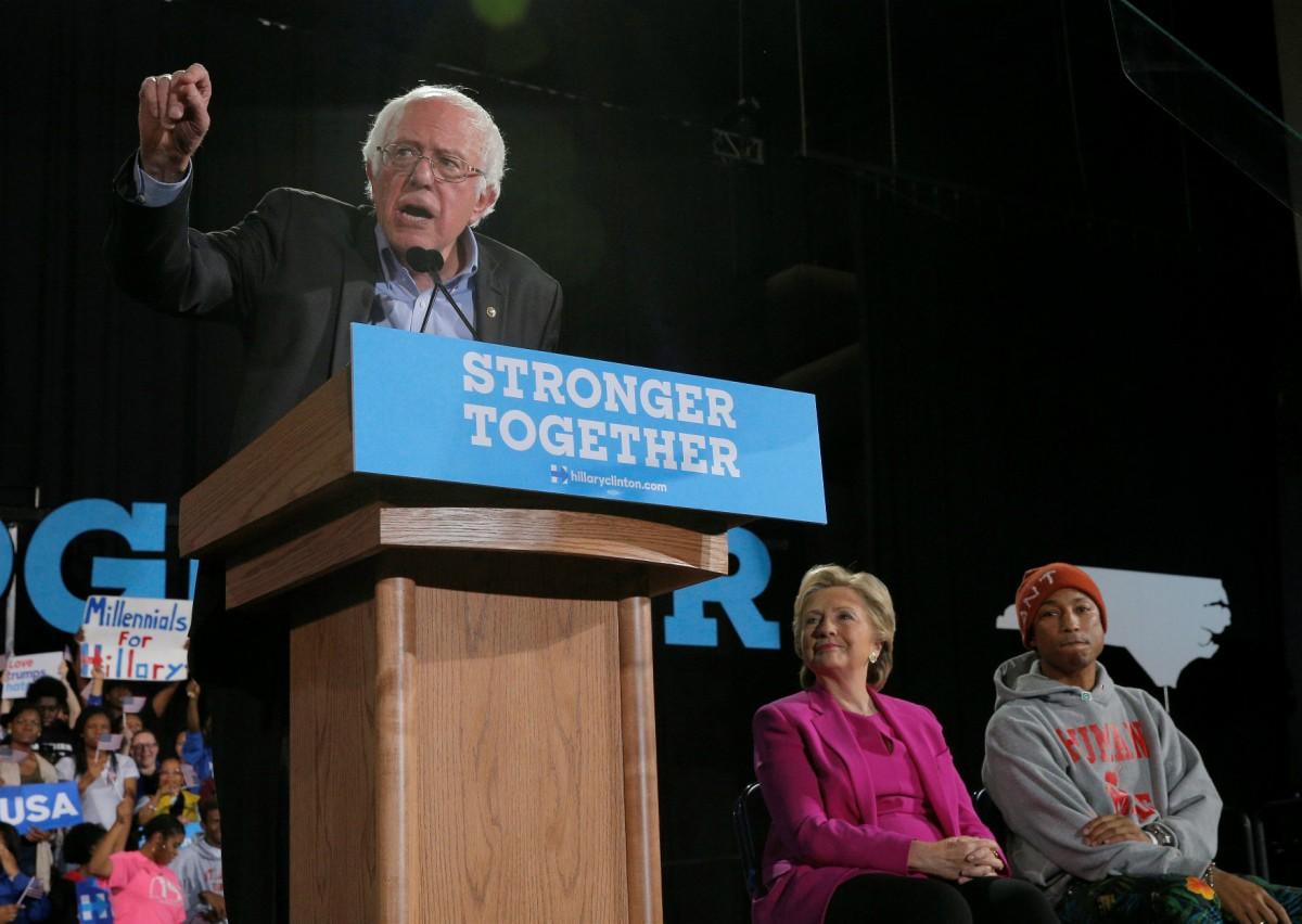 齊澤克認為,將桑德斯「中和」是民主黨的敗著。 圖片來源:路透社